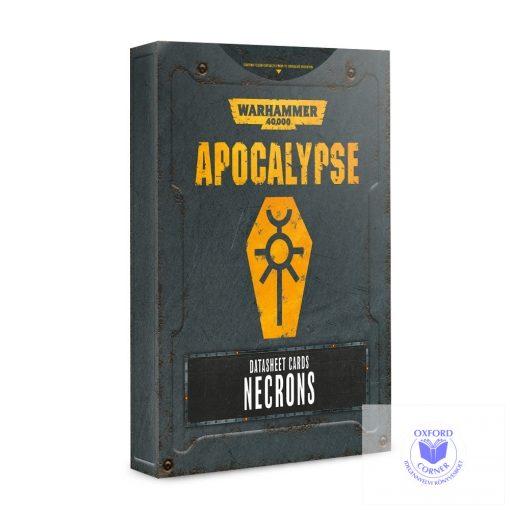 Apocalypse Datasheet Cards: Necrons