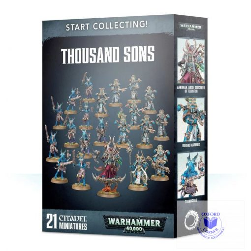 Start Collecting! Thousand Sons Collection