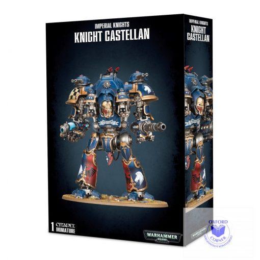 Knight Castellan / Knight Tyrant with Plasma Decimator and Volcano Lance