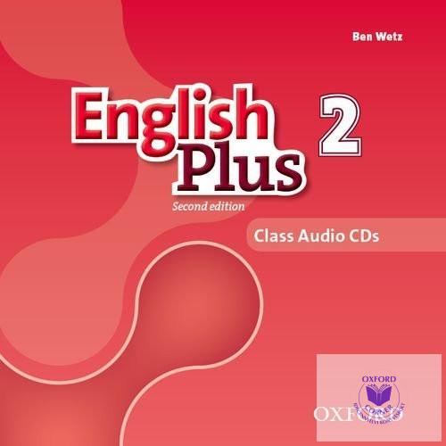 English Plus 2 Class Audio CDs Second Edition
